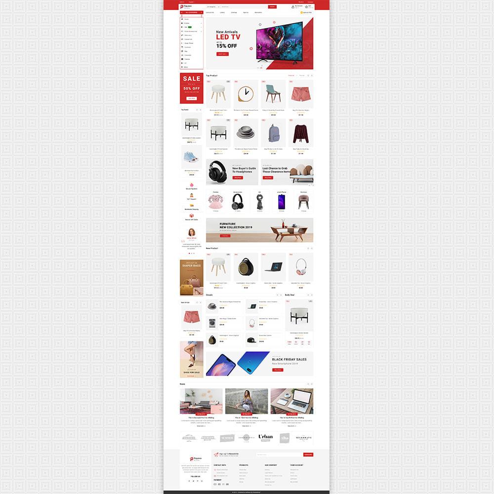 theme - Elektronica & High Tech - Payoxo - Digital Responsive Store - 2