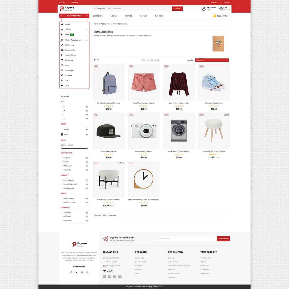 theme - Elektronica & High Tech - Payoxo - Digital Responsive Store - 3