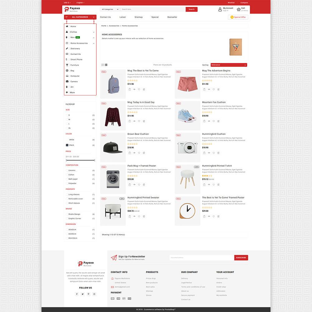 theme - Elektronica & High Tech - Payoxo - Digital Responsive Store - 4