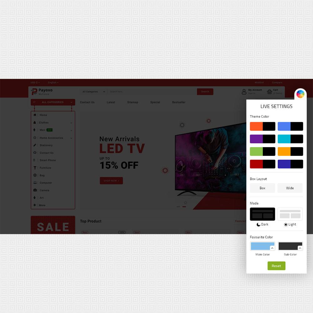 theme - Elektronica & High Tech - Payoxo - Digital Responsive Store - 8