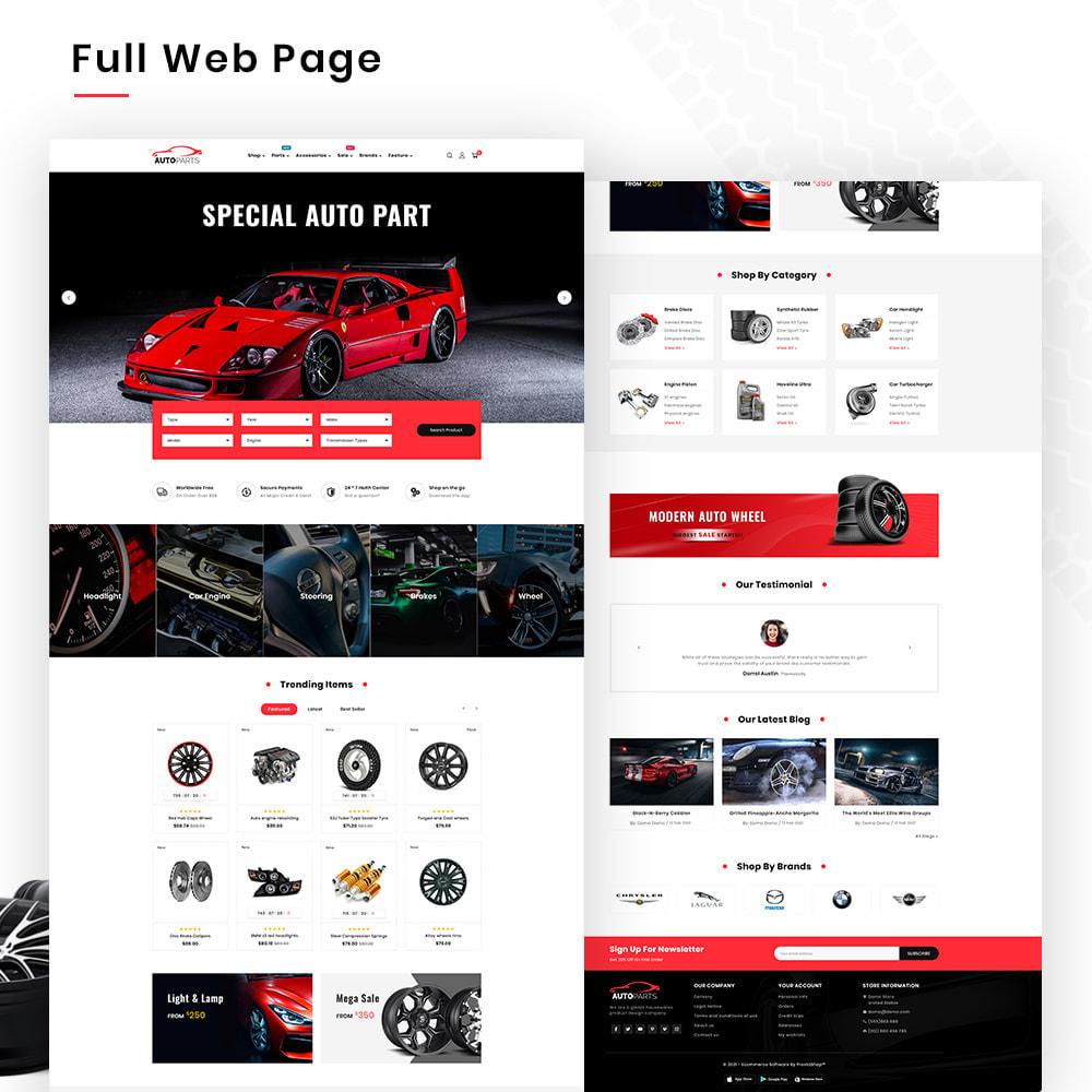 theme - Coches y Motos - Autopart Mega–Cars Spare-AutoPart Super Store - 2