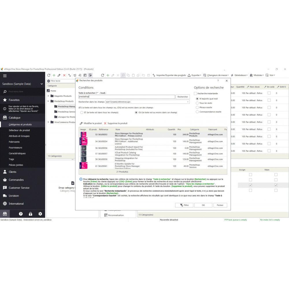 module - Connexion à un logiciel tiers (CRM, ERP...) - Store Manager - 7