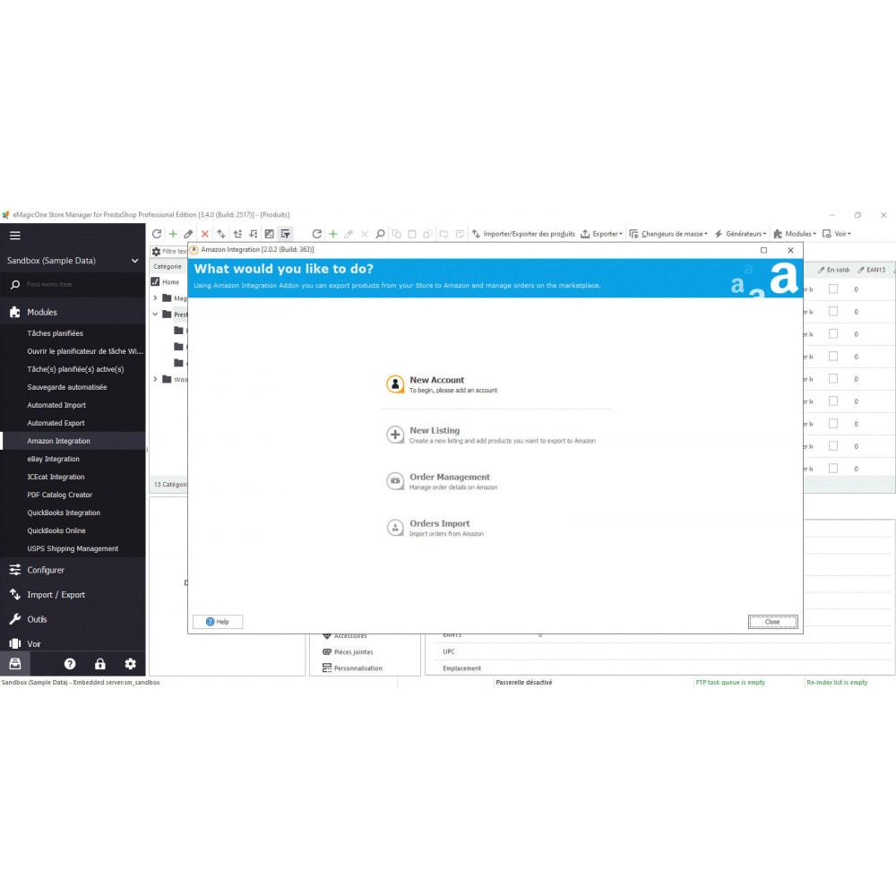 module - Connexion à un logiciel tiers (CRM, ERP...) - Store Manager - 9