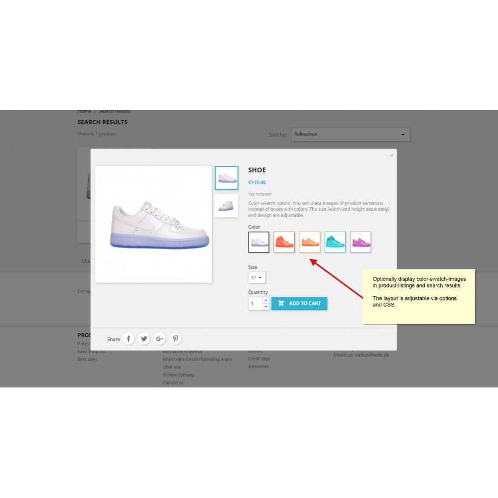 module - Combinaciones y Personalización de productos - Combinaciones de productos con imágenes - 11