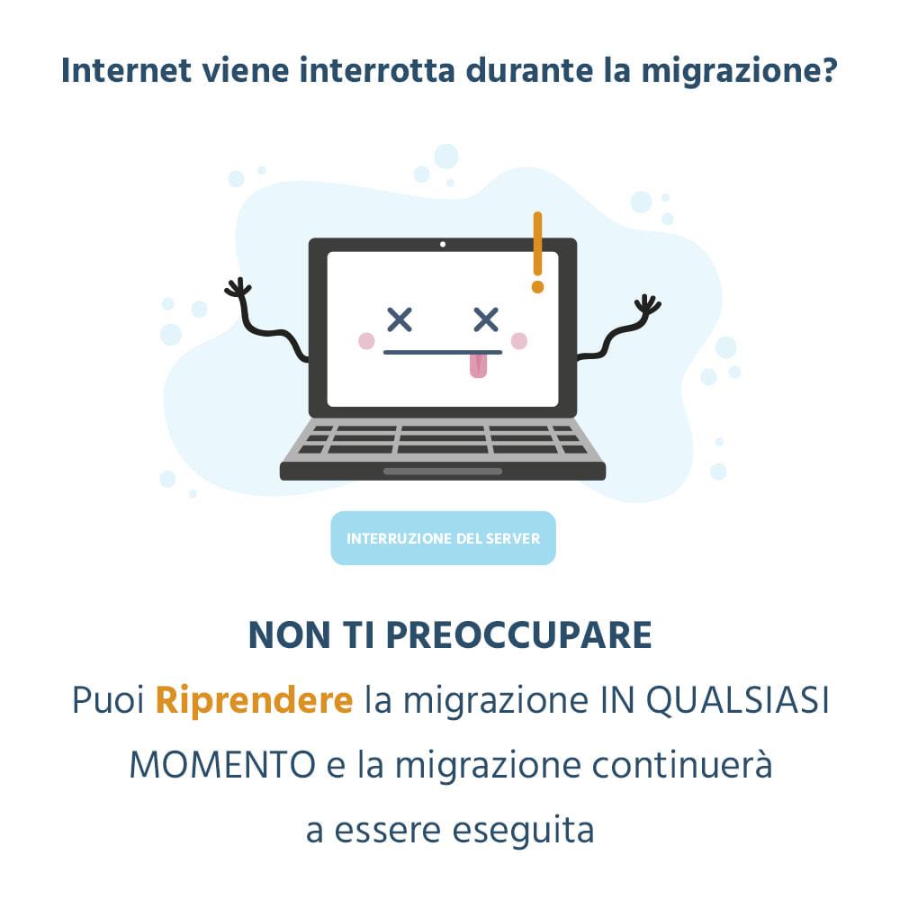 module - Data Migration & Backup - 1 CLICCA per Migrare o Aggiornare - 7