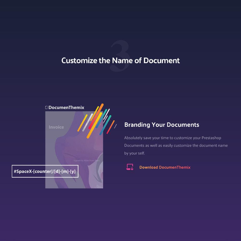 module - Buchhaltung & Rechnung - DocumenThemix: Invoice Template, Credit, Delivery Slips - 5