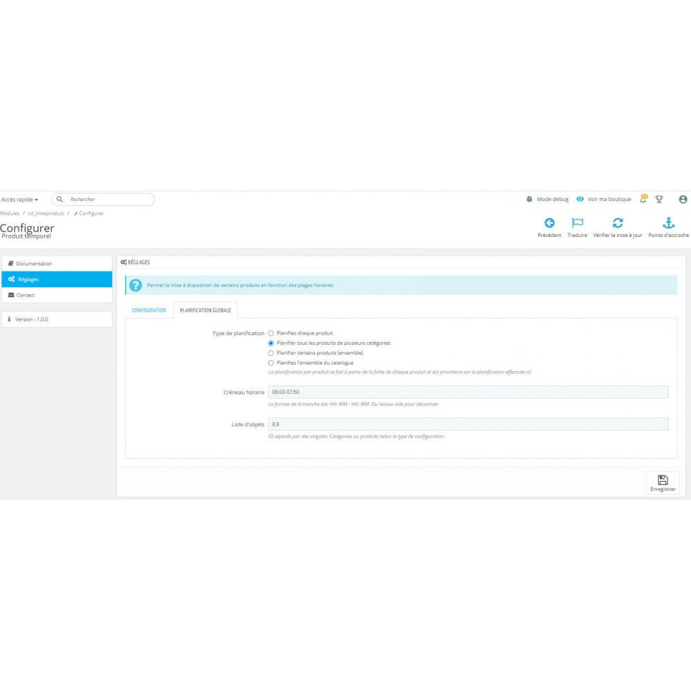 module - Data de entrega - Management of temporal products - 3