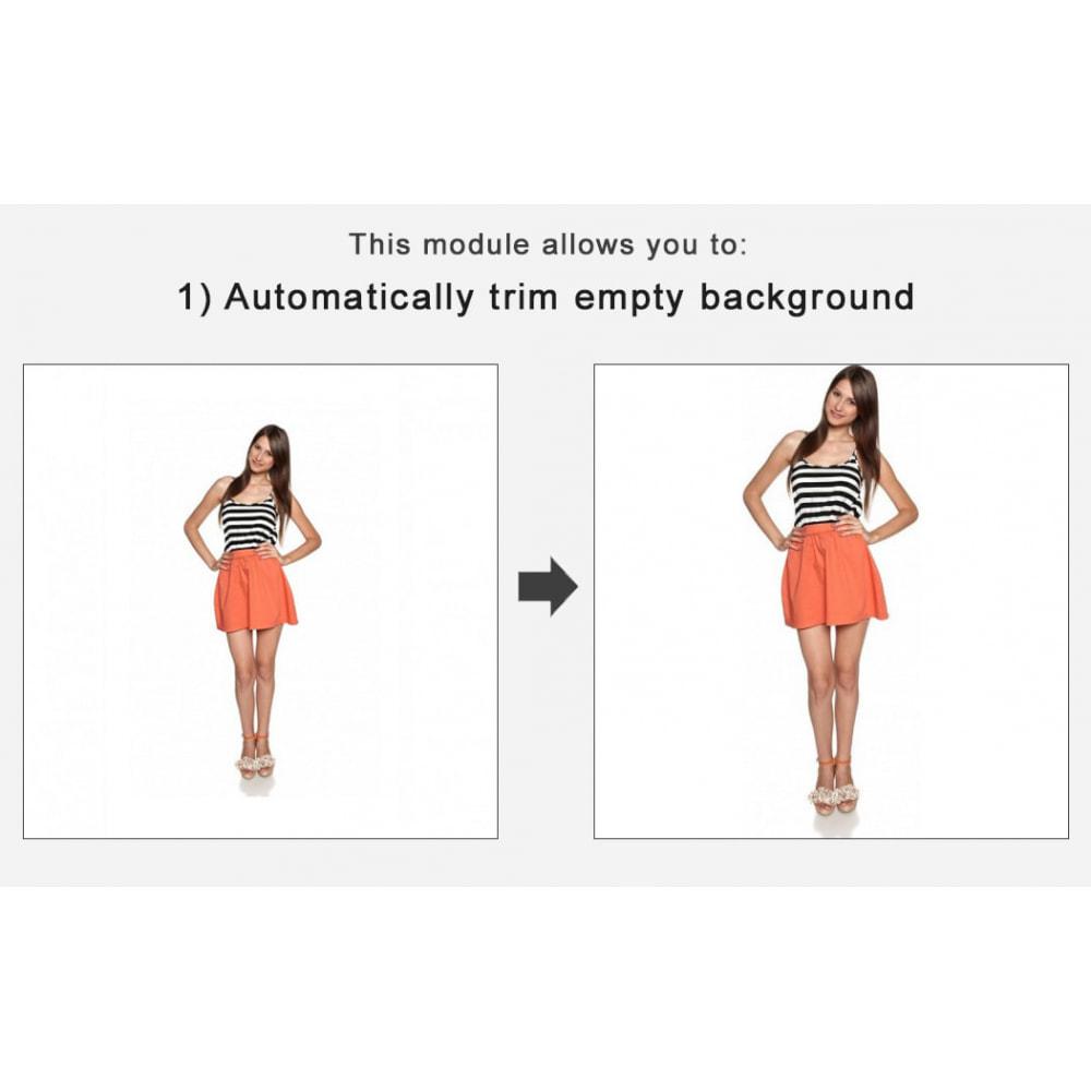 module - Personalizzazione pagine - Automatic image trimming and cropping - 1