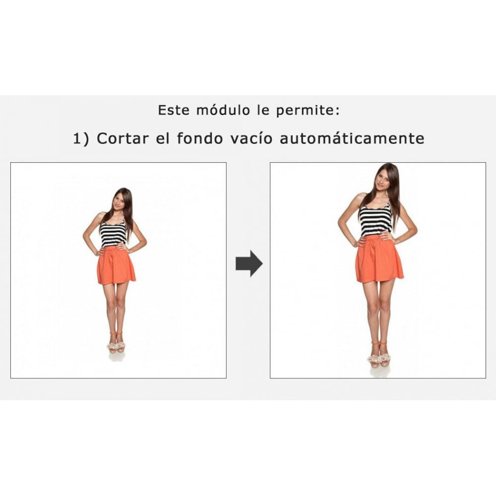module - Personalización de la página - Corte automático y encuadre de las imágenes - 1
