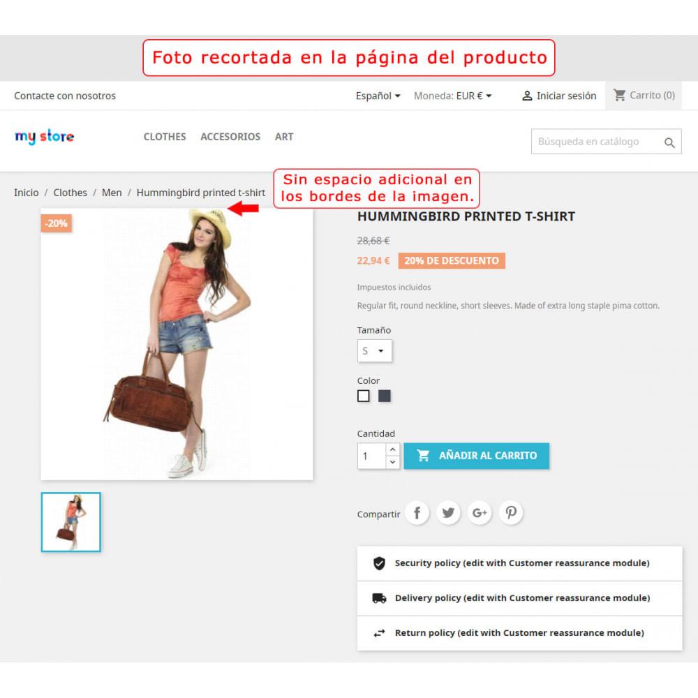 module - Personalización de la página - Corte automático y encuadre de las imágenes - 5