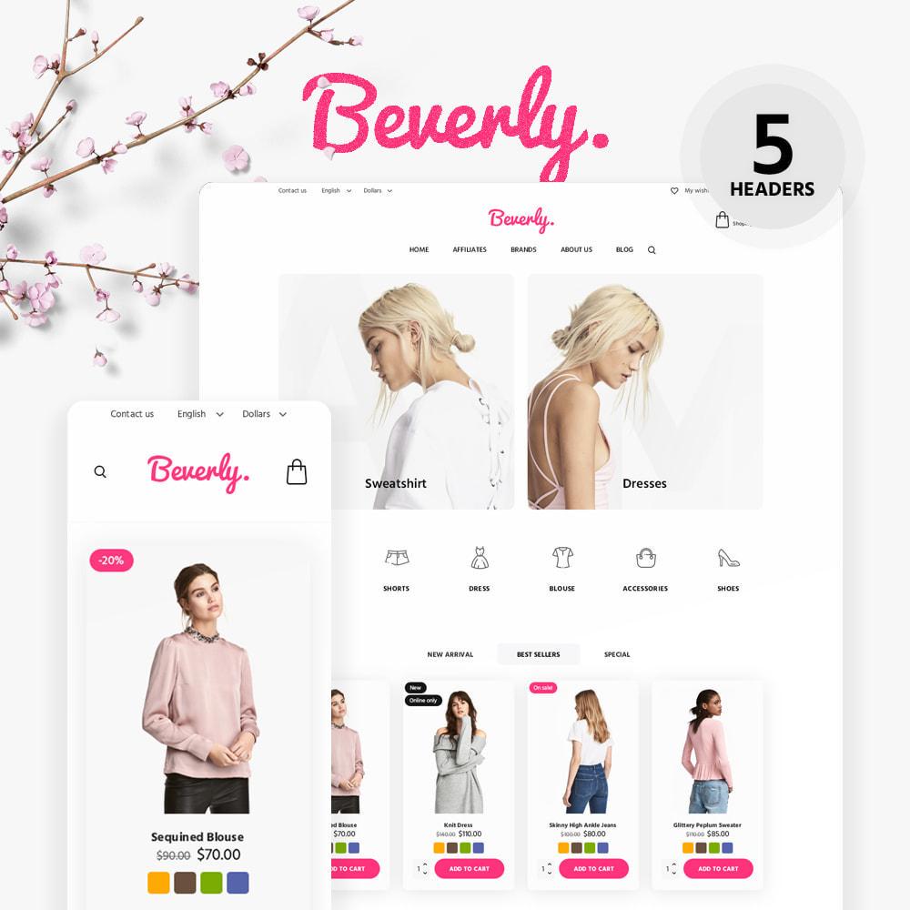 theme - Moda & Calçados - Beverly Fashion Store - 1