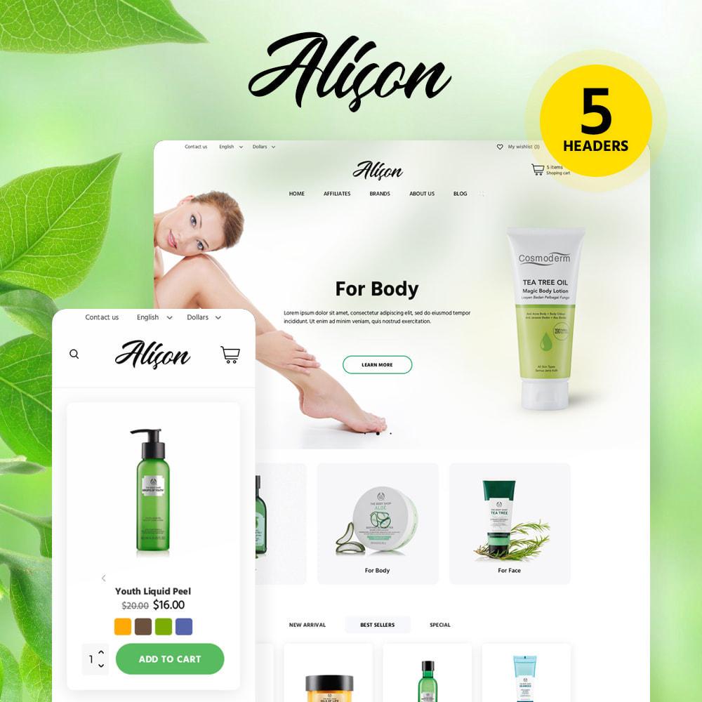 theme - Santé & Beauté - Alison Cosmetics - 1