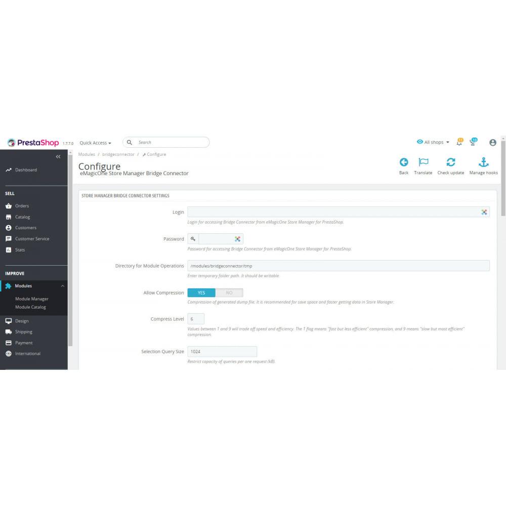 module - Edição rápida & em massa - Bridge Connector for Store Manager - 2