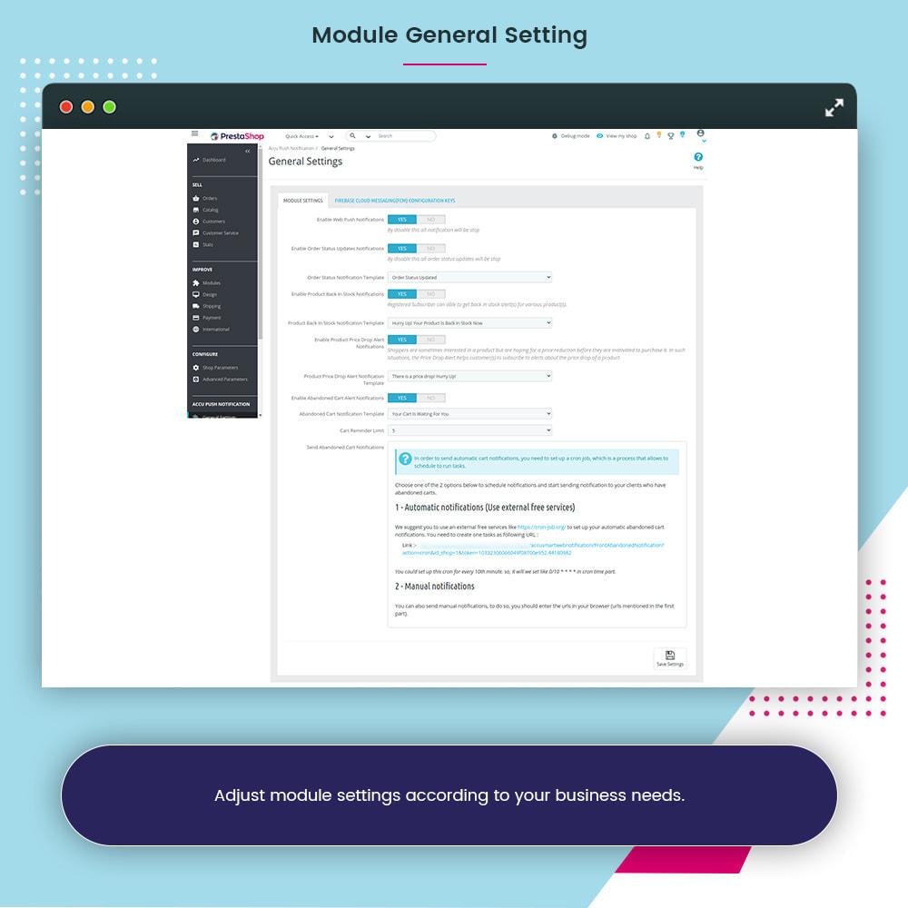 module - Notifications & Automatic Emails - Accu Smart Web Push Notification - 7