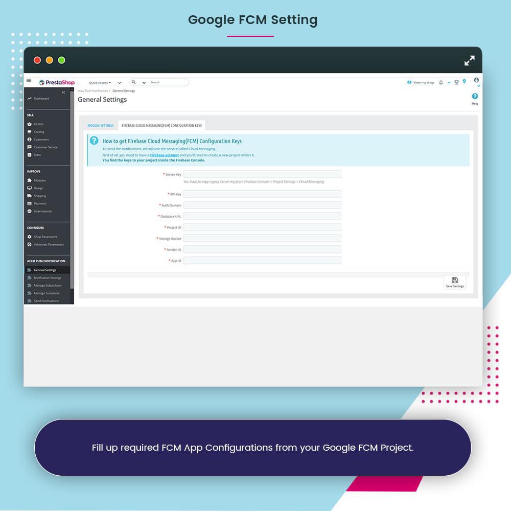 module - Notifications & Automatic Emails - Accu Smart Web Push Notification - 8