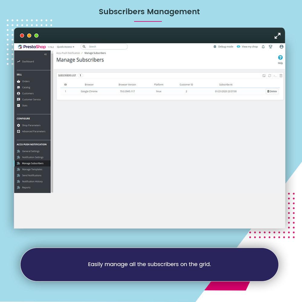 module - Notifications & Automatic Emails - Accu Smart Web Push Notification - 11