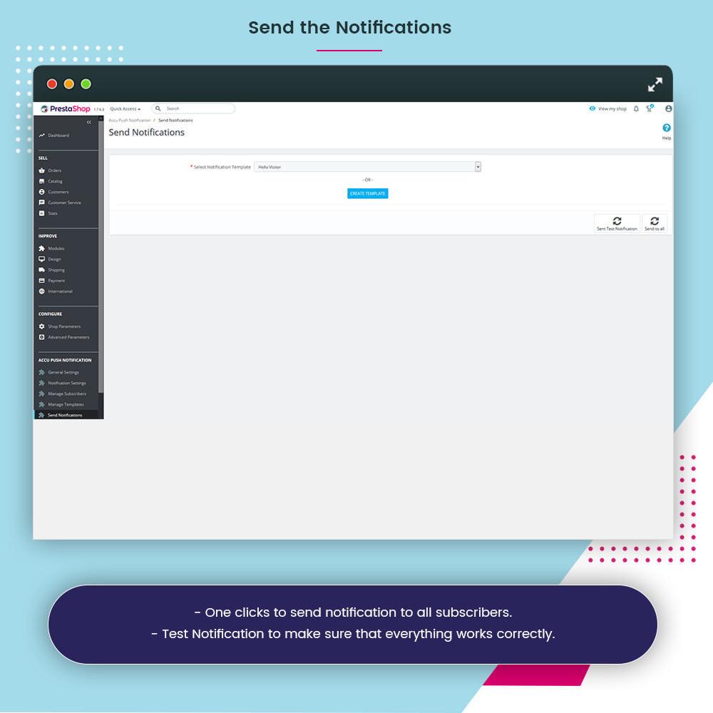 module - Notifications & Automatic Emails - Accu Smart Web Push Notification - 14