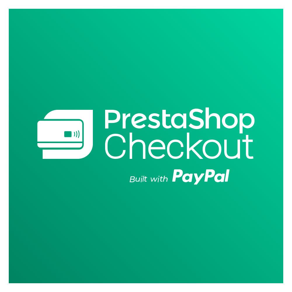 module - Zahlung per Kreditkarte oder Wallet - PrestaShop Checkout built with PayPal - 1