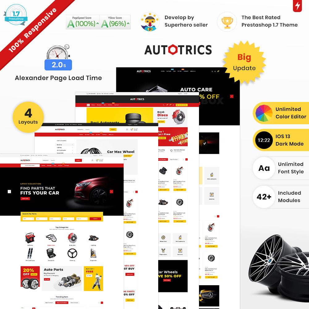 theme - Auto & Moto - Autotricas Mega AutoPart–Cars Tools Shop - 1