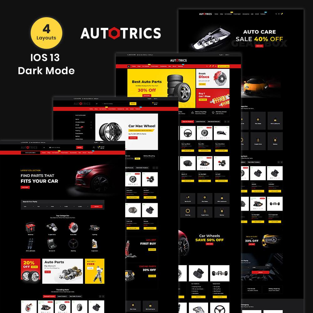 theme - Auto & Moto - Autotricas Mega AutoPart–Cars Tools Shop - 2