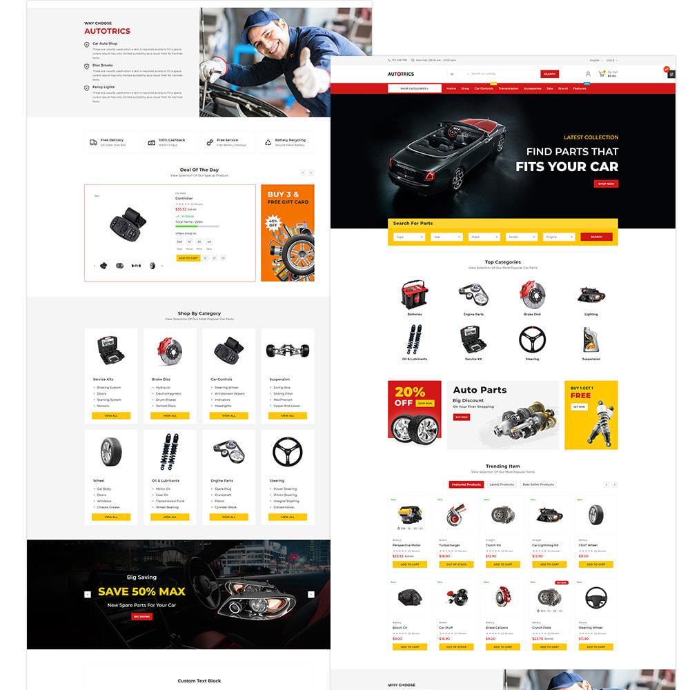 theme - Auto & Moto - Autotricas Mega AutoPart–Cars Tools Shop - 3