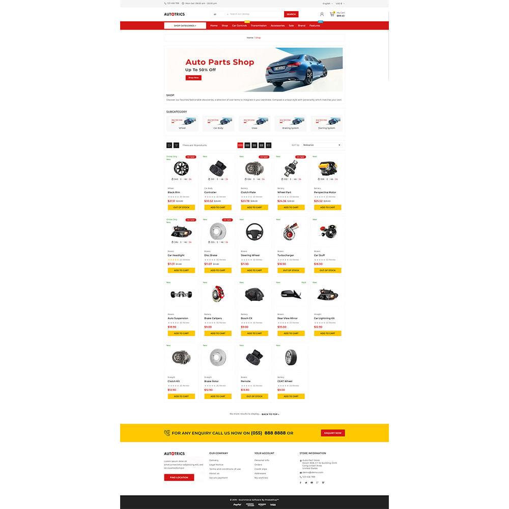theme - Auto & Moto - Autotricas Mega AutoPart–Cars Tools Shop - 4