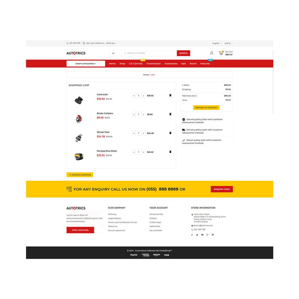 theme - Auto & Moto - Autotricas Mega AutoPart–Cars Tools Shop - 6