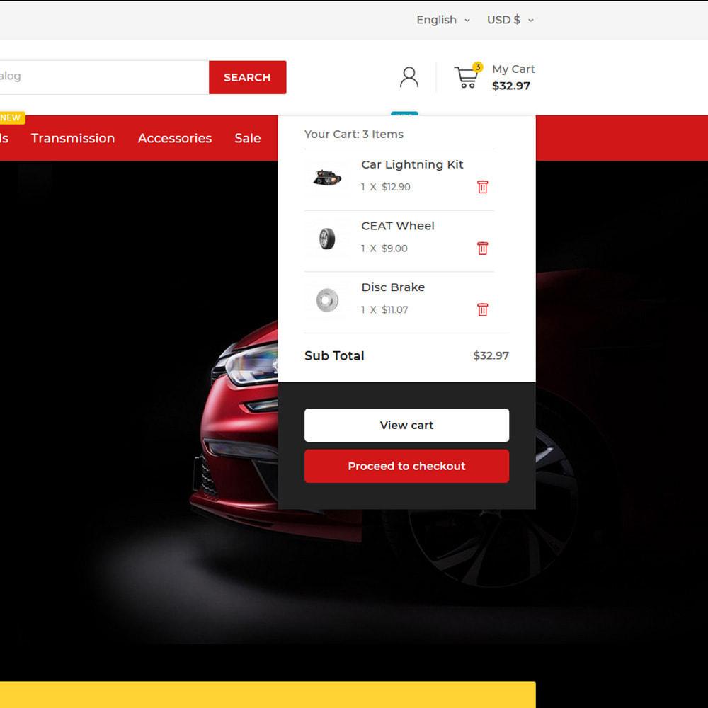 theme - Auto & Moto - Autotricas Mega AutoPart–Cars Tools Shop - 8