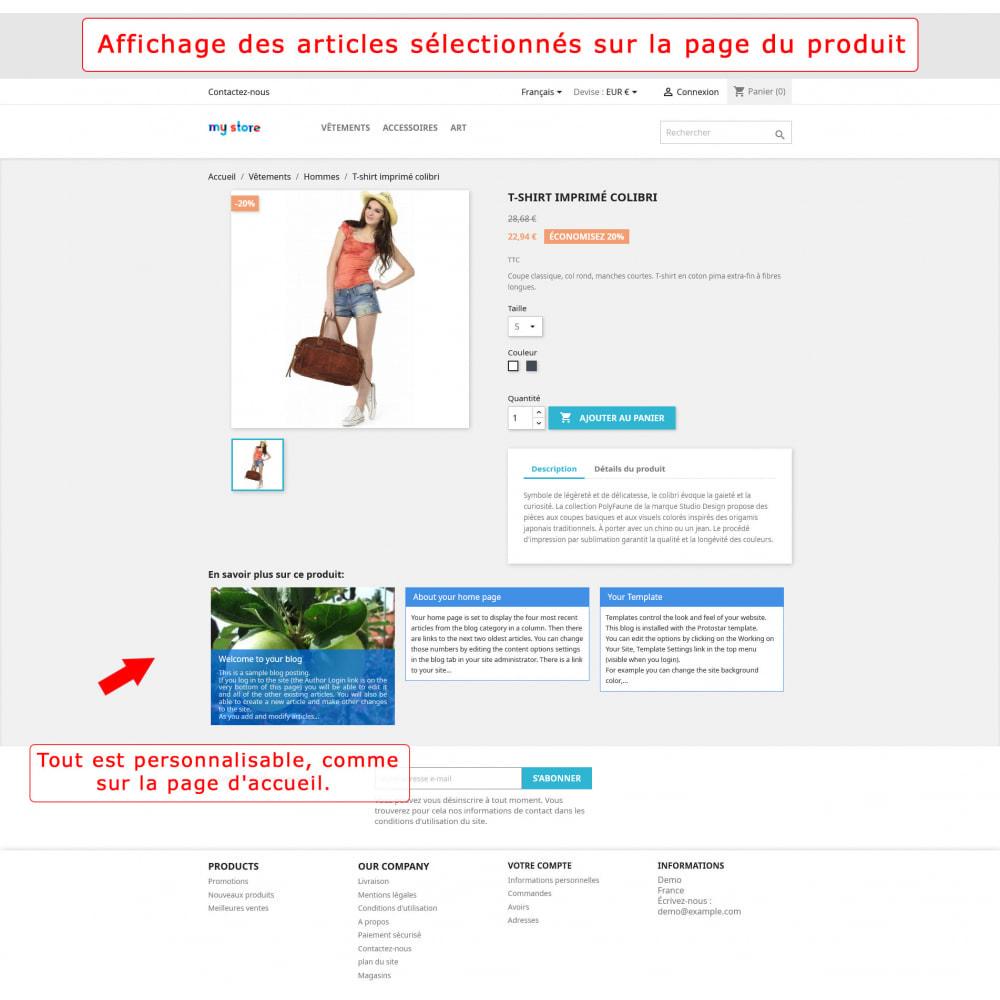 module - Marketplaces - Intégration bidirectionnelle de PrestaShop et de Joomla - 2