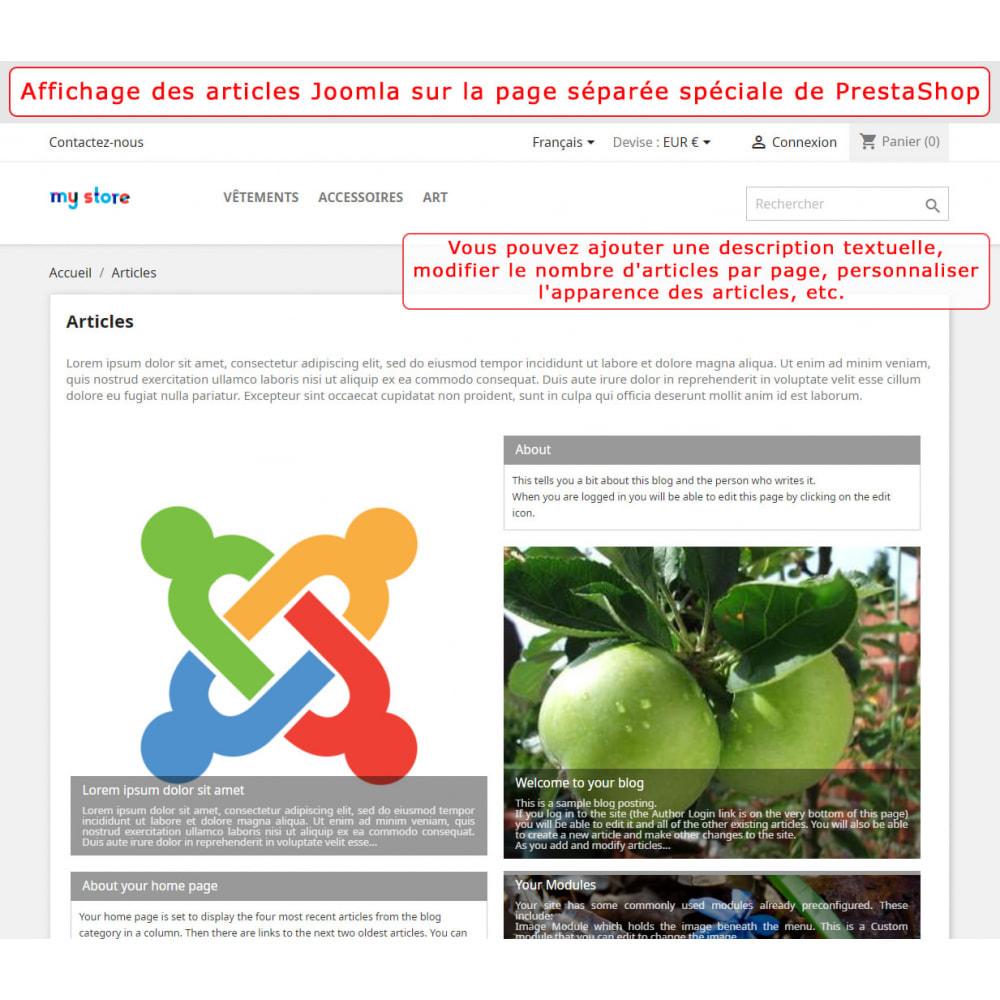 module - Marketplaces - Intégration bidirectionnelle de PrestaShop et de Joomla - 4