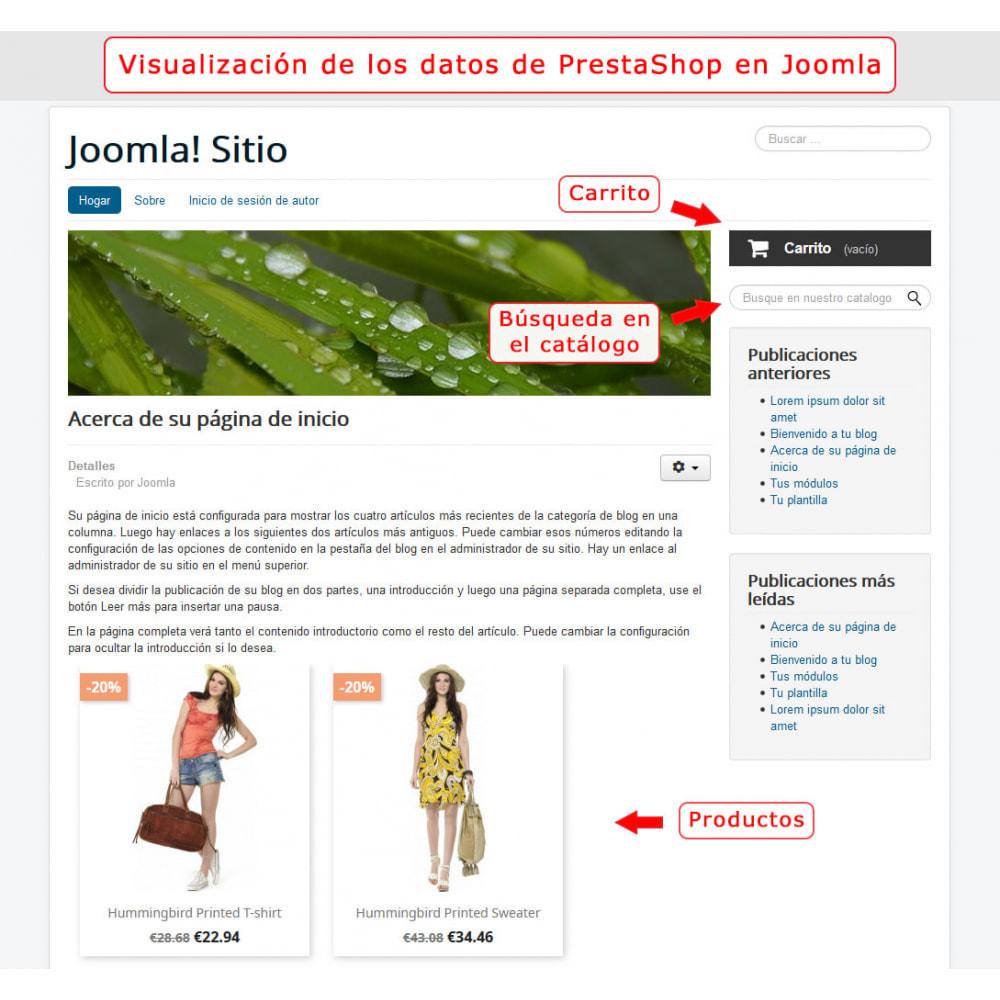 module - Marketplaces - Integración bilateral de PrestaShop y Joomla! - 6