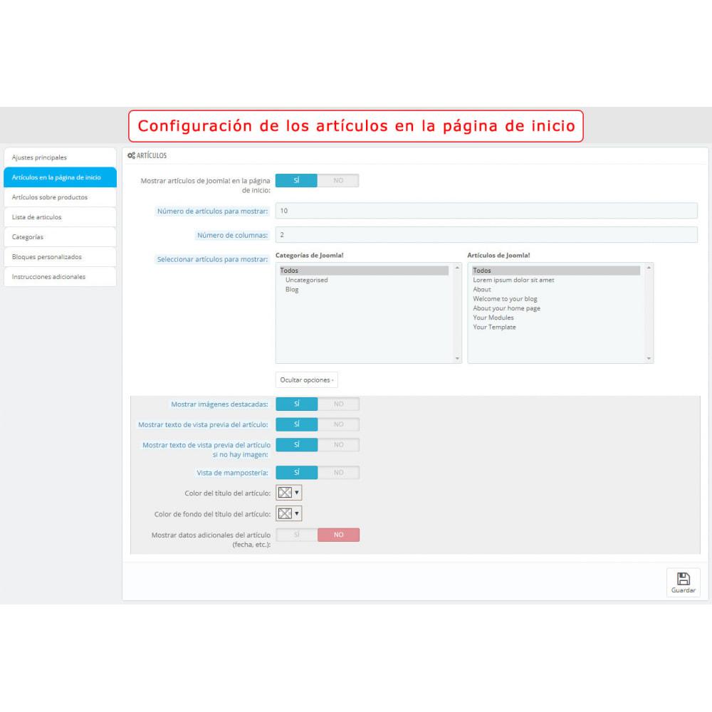 module - Marketplaces - Integración bilateral de PrestaShop y Joomla! - 8