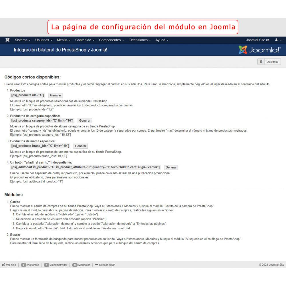 module - Marketplaces - Integración bilateral de PrestaShop y Joomla! - 12