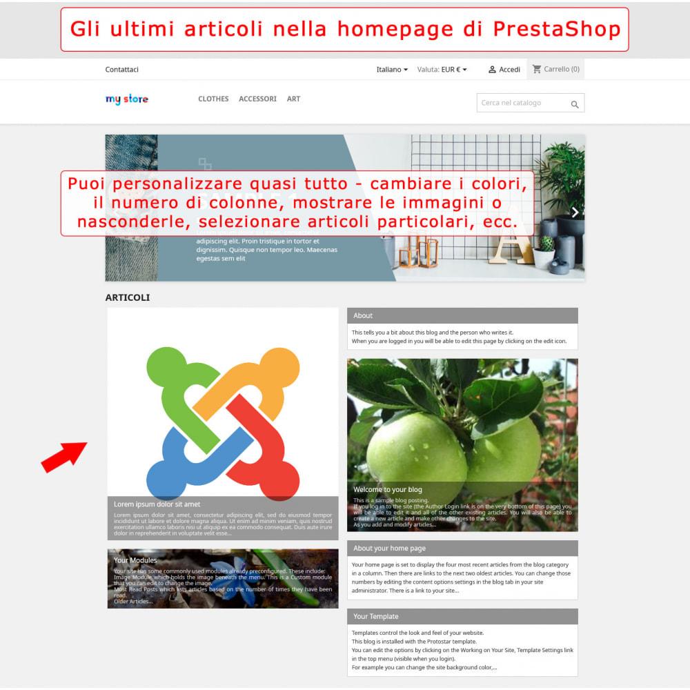 module - Marketplace - Integrazione bilaterale PrestaShop e Joomla! - 1