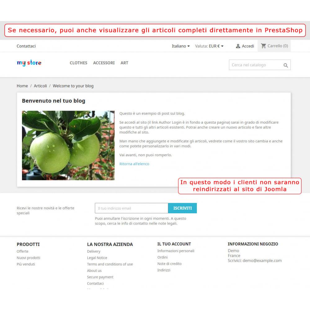 module - Marketplace - Integrazione bilaterale PrestaShop e Joomla! - 5