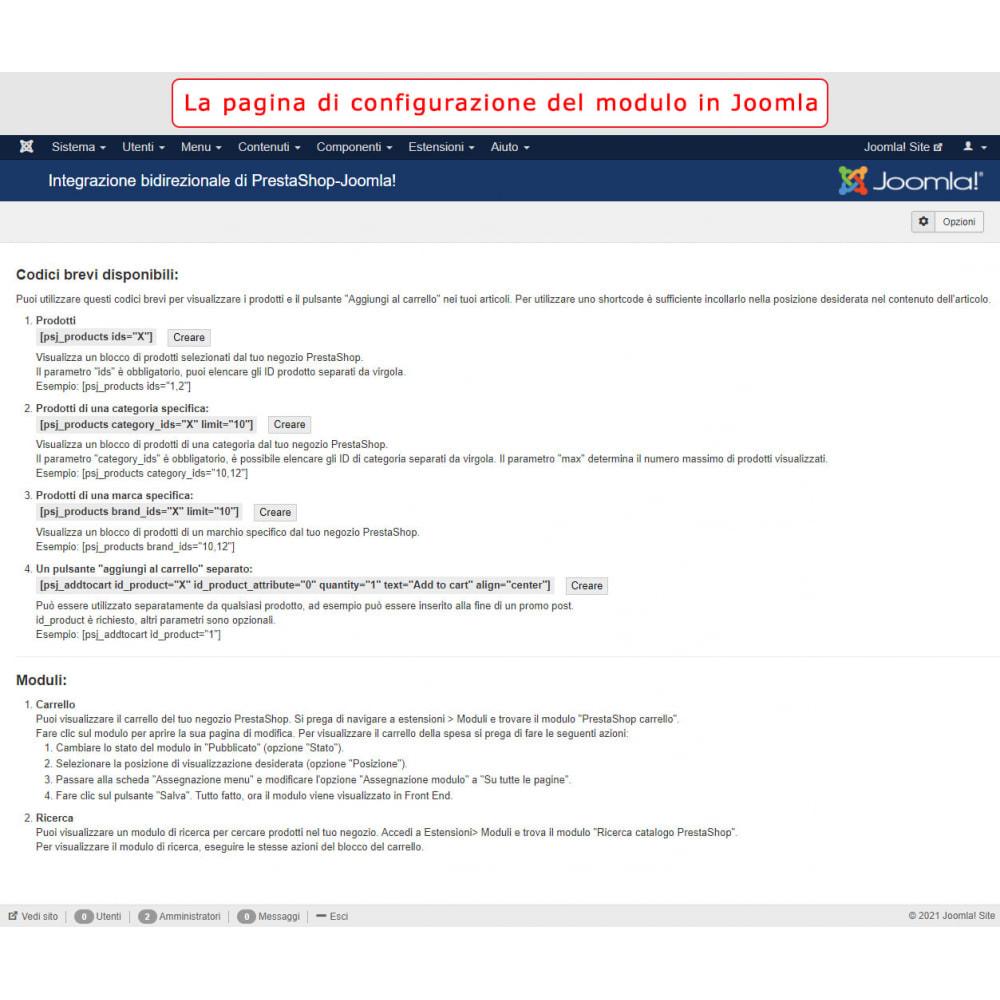 module - Marketplace - Integrazione bilaterale PrestaShop e Joomla! - 12