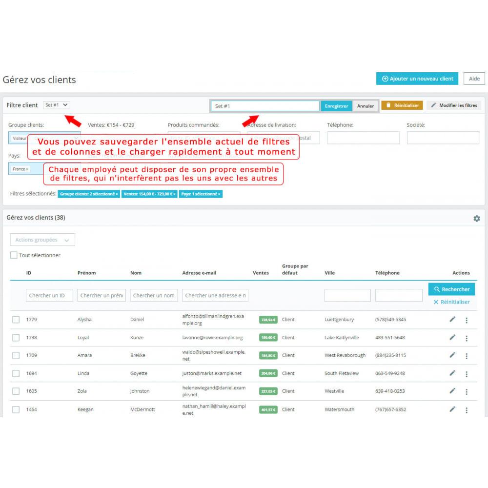 module - Recherche & Filtres - Filtre client amélioré - 5