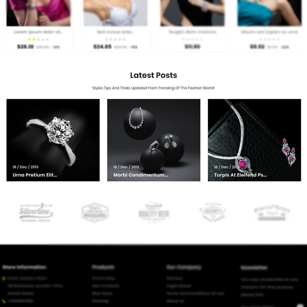theme - Ювелирные изделия и Аксессуары - Foreli - Jewellery Store - 5
