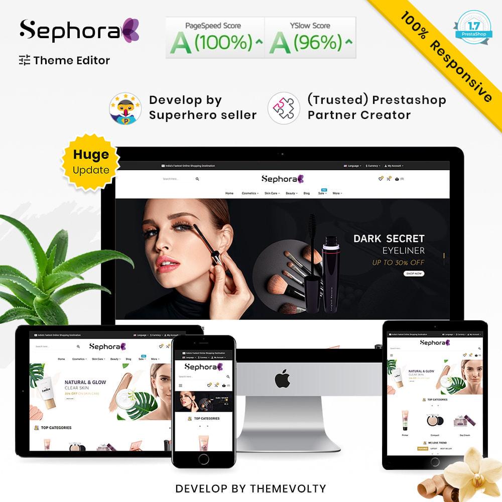 theme - Santé & Beauté - Sephora Mega Bio–Cosmetics Health–Beauty Super Store - 1
