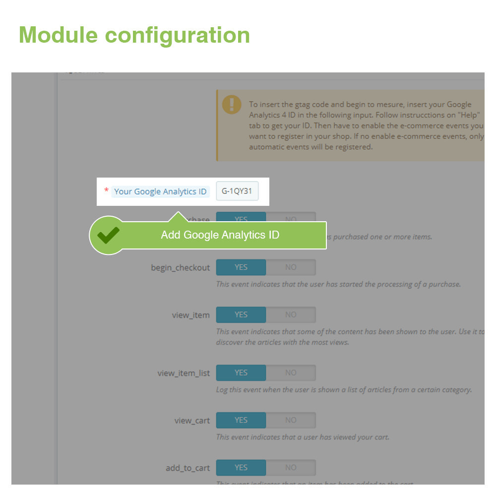 module - Analytics & Statistics - Google Analytics 4 - 2