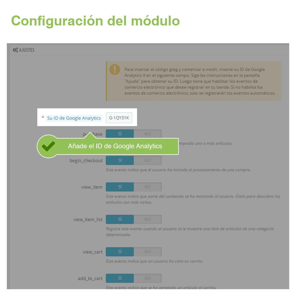 module - Informes y Estadísticas - Google Analytics 4 - 2