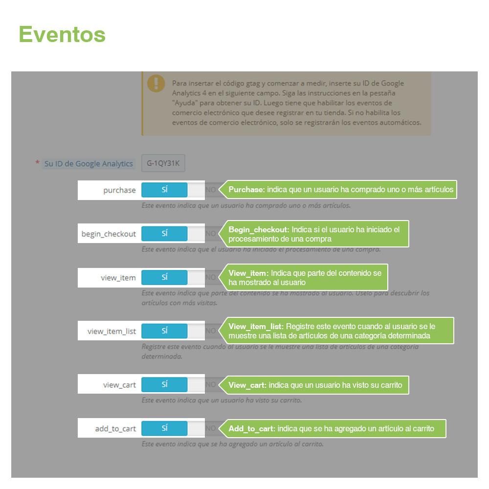 module - Informes y Estadísticas - Google Analytics 4 - 3