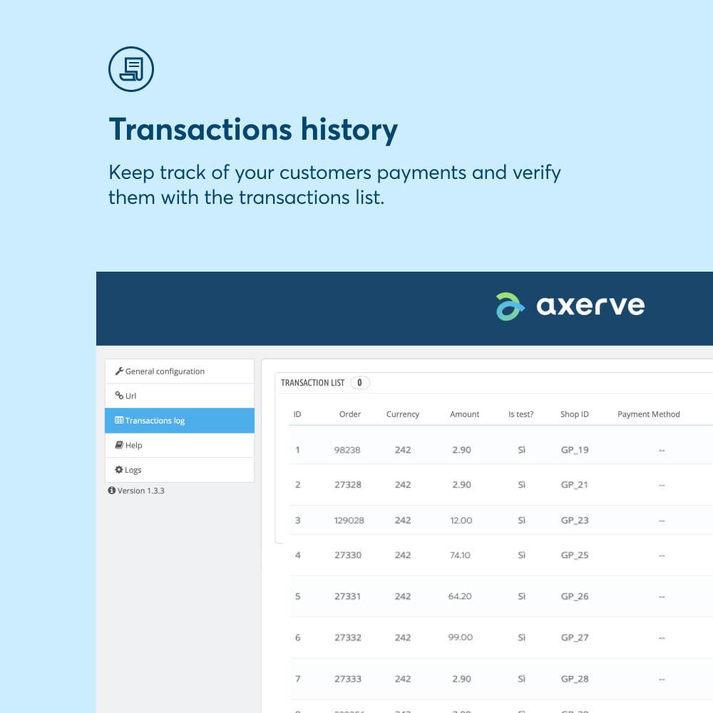 module - Paiement par Carte ou Wallet - Axerve Payment - 2