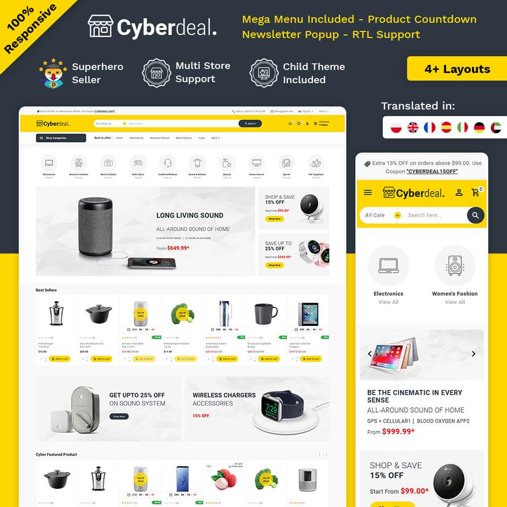 theme - Eletrônicos & High Tech - Cyberdeal - Electronic Super Store - 1
