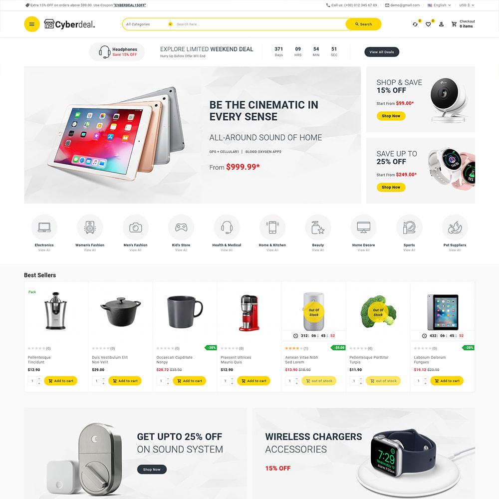 theme - Eletrônicos & High Tech - Cyberdeal - Electronic Super Store - 3