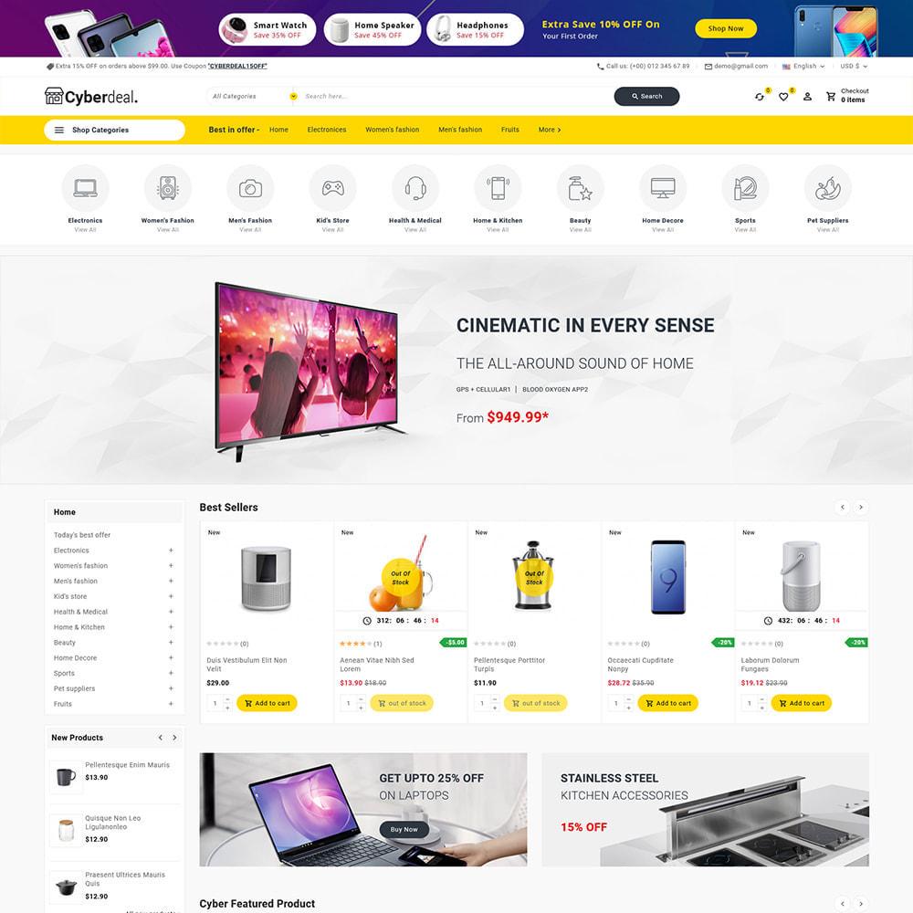 theme - Eletrônicos & High Tech - Cyberdeal - Electronic Super Store - 5