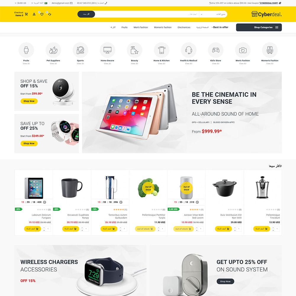 theme - Eletrônicos & High Tech - Cyberdeal - Electronic Super Store - 8