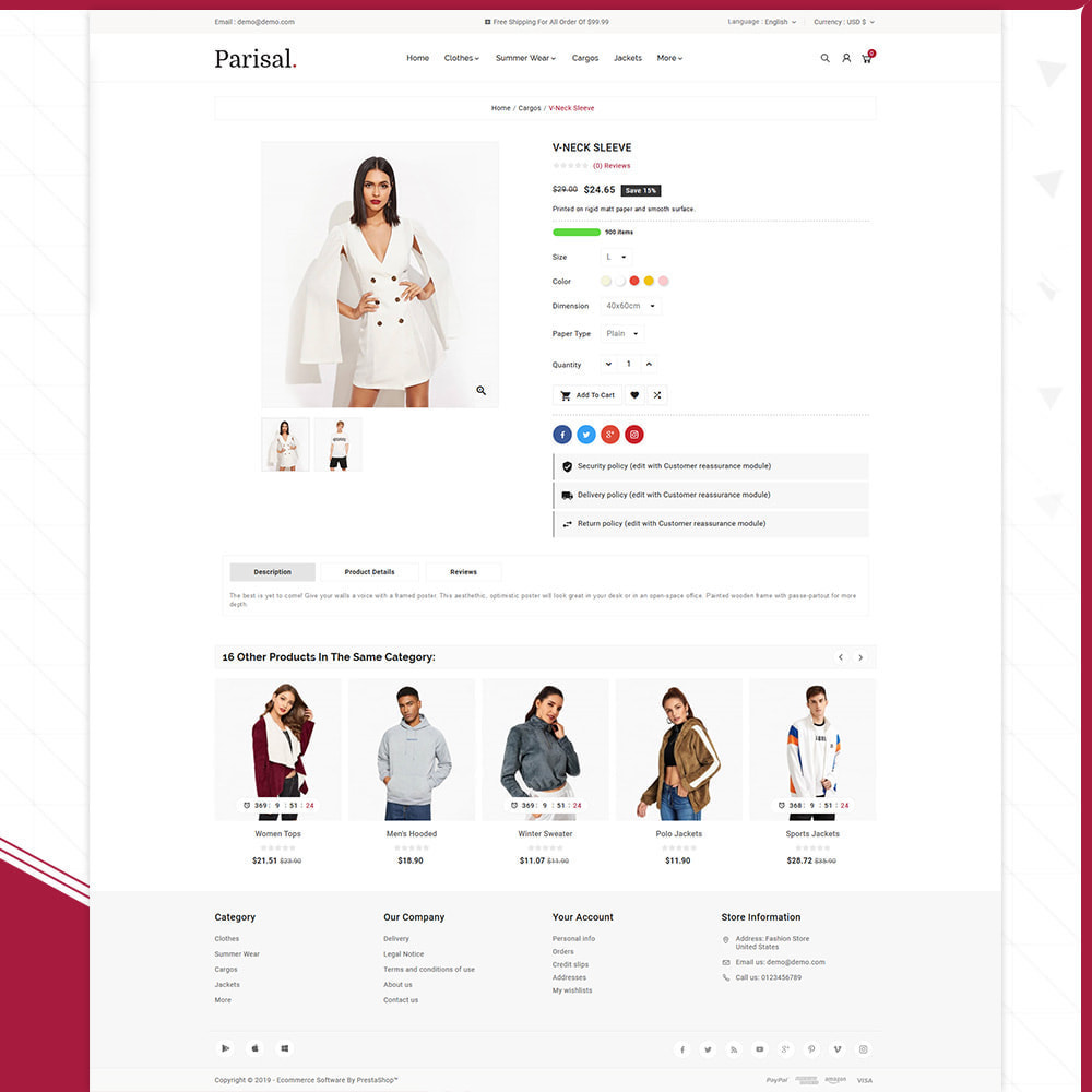 theme - Mode & Schuhe - Parisal Fashion– The Big Store - 4