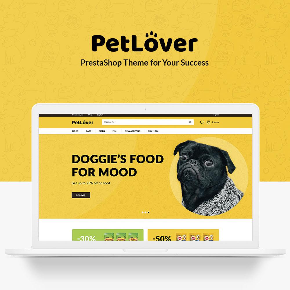 theme - Animales y Mascotas - PetLover - 1