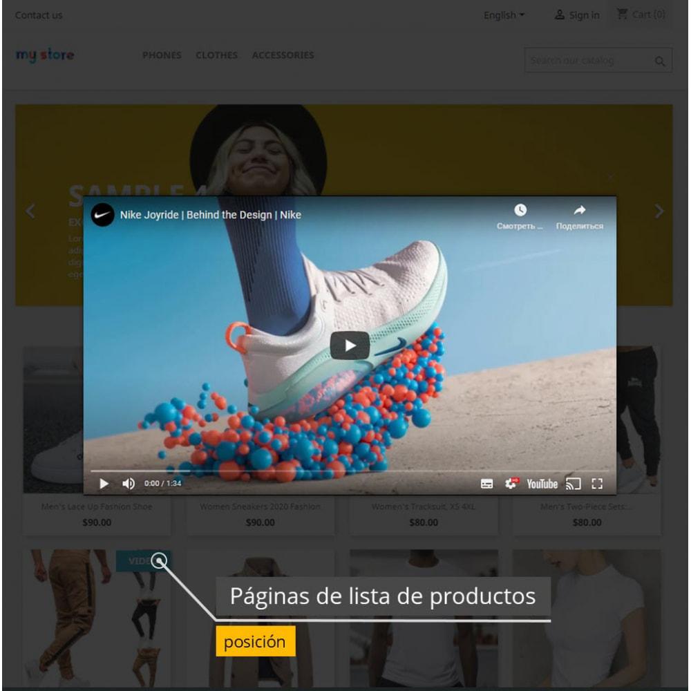 module - Vídeos y Música - Vídeos de productos - Youtube / Vimeo - 5